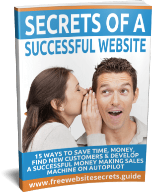 Secrets of a Successful Website Guide Cover